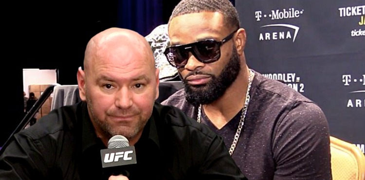 Dana-White-and-Tyron-Woodley-serious